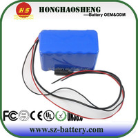 rechargeable 24V 10Ah cylindrical 18650 lithium ion battery pack