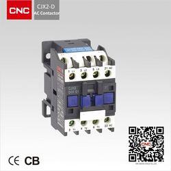 CJX2-D AC Contactor 24v dc contactor