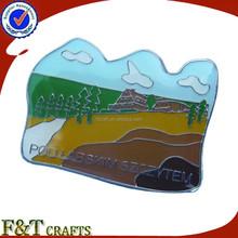 High quality custom different shape souvenir badge/badge metal/pin badge