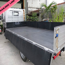 Vans and Lorries rubber matting 2M super width absorbs the impact of heavy weights