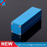 Paypal for 25*25*80mm Small aluminum extrusion profile cases for PCB