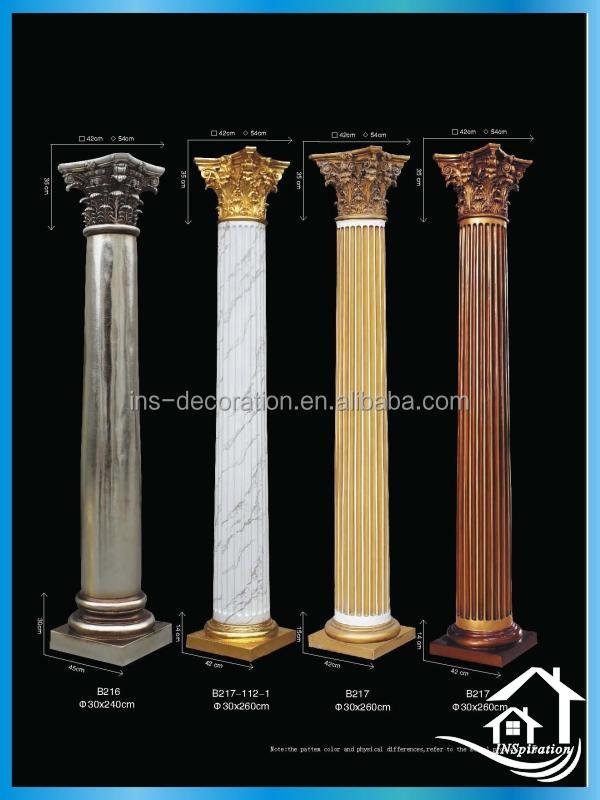 fiberglass decorative modern columns buy modern columns