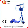 CE factory direct sales three wheel scooter with music&light