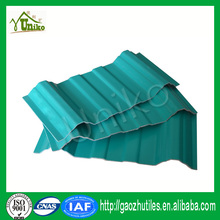 anti-uv ray low price roofing clay tiles UPVC roof tile