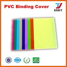 Best quality Transparent pvc clear plastic a4 book cover