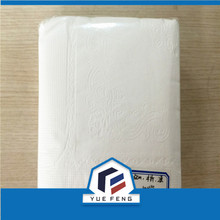 2 ply White colour Lunch Napkins 32*32 1/4 fold