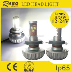New products car led lighting led headlight bulb, h4 h7 h11 h13 motorcycle and car led headlight