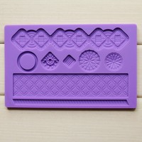 silicone lace sugar paste cake mold lace sugar molds for cake decorating baking cake mould
