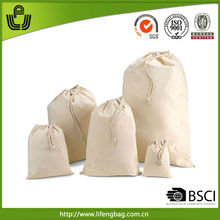 2014 new products custom eco cotton draw string bag