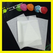 waterproof glassine paper for chocolate wrapping