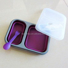 Silicone Food Container/Silicone Lunch Boxes/Collapsible Lunch Boxes