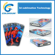 3D sublimation phone case for iphone full printed case cover