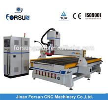 CE Certification automatic 3d wooden doors carving router machine/high efficiency auto tool change fs1325