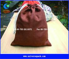 Nice Color Logo Custom Printing Pouch Organic Cotton Bag Promotion Gift