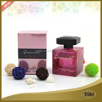 Simple design long lasting women perfume
