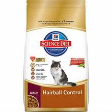 Hill Science Diet dry cat food Hairball control