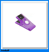 Supply Plastic Spring Clip, Spring With Strong Magnet Button On Back