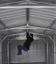 Apex telhado da tomada de fábrica baixo preço do metal car garage