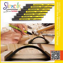 Woodless Black builders pencil,long lasting flexible builder pencil with CE , ASTM 4236/9630 pencil