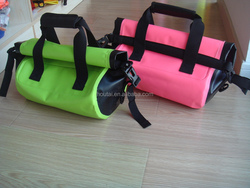 MINI handle style pvc waterproof tote bag for outdoor sports and fashion party