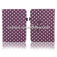 For Samsung Galaxy Tab 3 10.1'' Tablet P5200 P5210 Wholesales Polka Dot Magnetic PU Leather Stand Case