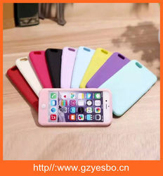 Fashion soft silicone cover case , silicon case for iphone 5 6 6S plus