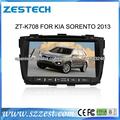 """ZESTECH Navegación 7"""" pantalla táctil radio Para Kia Sorento 2013 Dvd GPS del Coche bluetooth/TV/DVB/ISDB/Radio/ATSC/DVB-T2"""