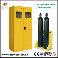 China SAFOO Metal Gas Cylinder Storage Cabinet explosion resistant fire proof