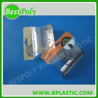 Clear plastic box for chalk packaging