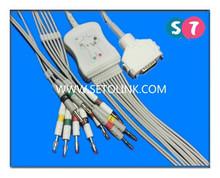 Fukuda ECG/EKG 10/12 Leadwires Clip, IEC Standard Available