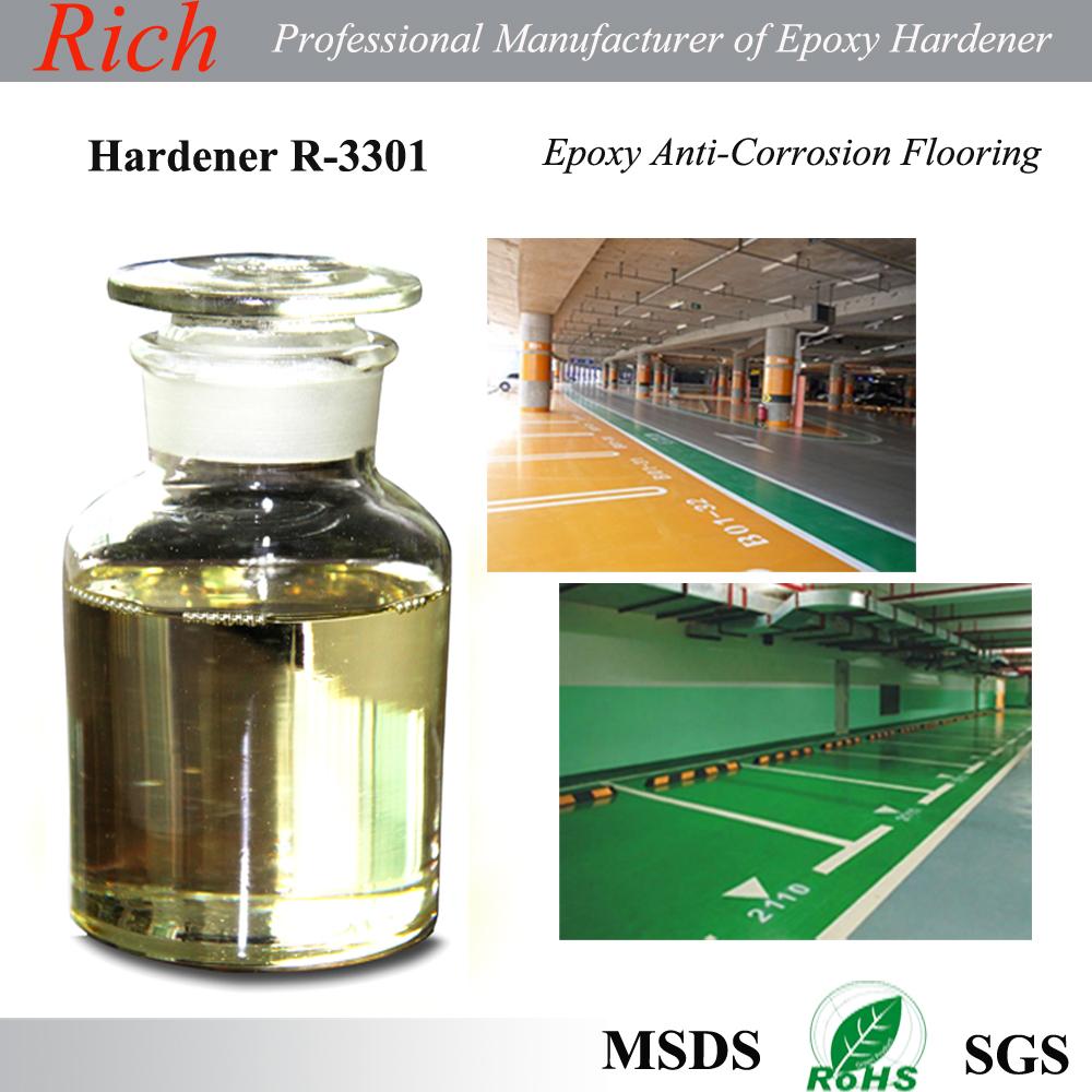 Hardener Epoxy Floor : Modified cycloaliphatic amine hardener r anti