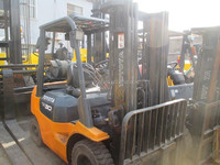 3 ton Toyota forklift for sale / Used Toyota forklift 3 ton price