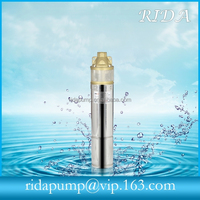 High quatity submersible warter pump prices in India 3inch 75QJD224-0.75 0.75kw 1hp RIDA1366