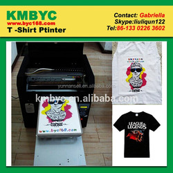 professional flatbed printer supplier offer self service t shirt printing machine