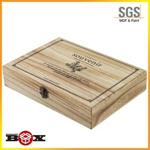 Multiple usage Home durable decoration cutlery set wooden box