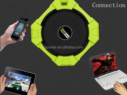 2015 new waterproof bluetooth speaker 5W Speaker Driver / Hi-Def Bass / Water-resistant / Dustproof / Shockproof