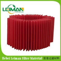 Motorcycle pleating filter paper Grade A air filter paper wood pulp material air/oil/fuel filter paper