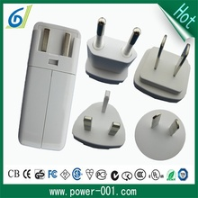 Free use 5V 4A cell phone tablet universal travel charger