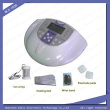 Bls-1036 celular máquina del detox del pie del detox desnuda de masaje