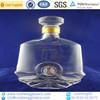 500ml sealed glass bottle for whiskey whith cap airtight glass bottle wholes