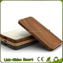 Chinese high quality Wooden Portable 5200mAh 4000mah