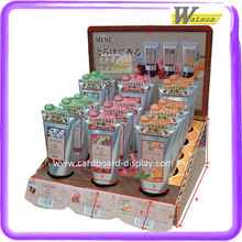 POP UP Cosmetic Products Promotional Cardboard Counter Display