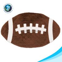 Fashion custom plush pet sex toy for dog cute kids stuffed soft plush rugby ball