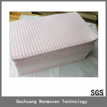 Super absorbent non-woven wiping cloth/nonwoven perforated wipes roll/absorbent wipe gloves
