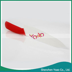 Best Home 7 Inch Zirconia & ABS Non-slip Handle Ceramic Knife Red