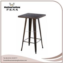 Hot sell high Quality bar table /metal table