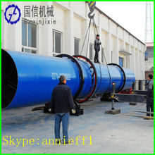 Hot sale in India and Indonesia coal rotary dryer