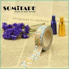 Tearable Writing And Printing Japanese Paper Masking Tape For Diy Hand-Made Art Working