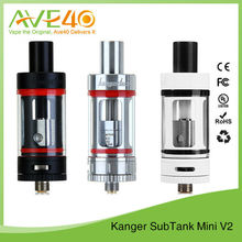 Kangetech Subtank Mini V2 4.5ml White/ Black/ Silver Tank Kangertech Subtank Mini VS Subtank Mini Bell Cap