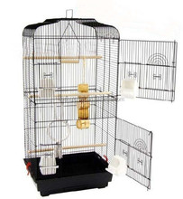 large wire bird parrot cage